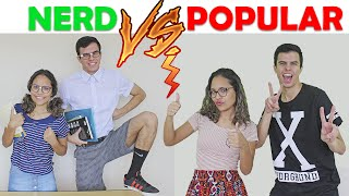 NERD VS POPULAR! - KIDS FUN