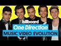 One Direction Music Video Evolution: 'What Makes You Beautiful' to 'History' | Billboard