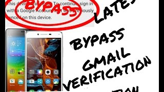 Bypass Lenovo Google account verification Latest 2017