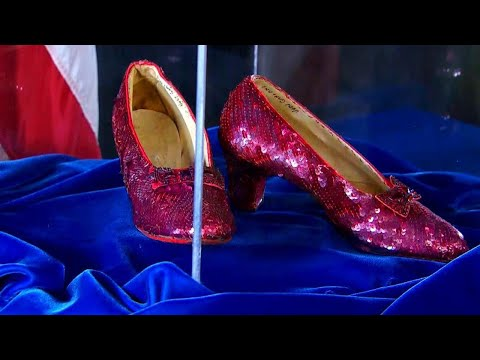 Stolen 'Wizard of Oz' Ruby Slippers Returned 13 Years Later