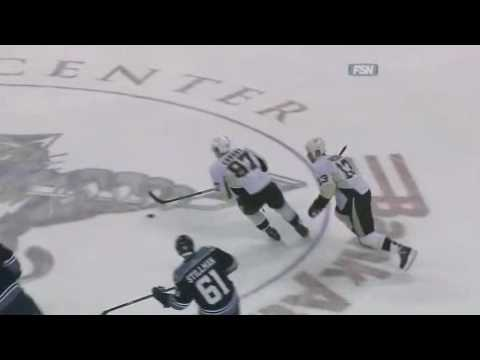 01-03-2010 Pittsburgh Penguins vs Florida Panthers - Bob Errey - What The Puck?! Video