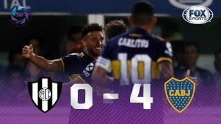 Central Córdoba - Boca Juniors [0-4] | GOLES | Superliga Argentina Fecha 20 | FOX Sports