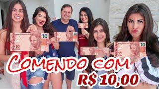 ALMOÇANDO E JANTANDO COM 10,00 COM A FAMÍLIA DRUDI!