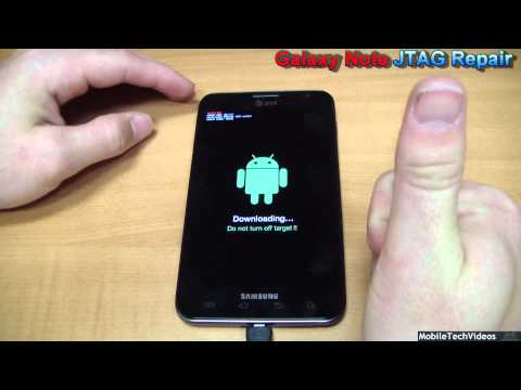 Samsung Galaxy Note - JTAG Brick Repair Service (Debricking/Unbrick/Brick FIX)