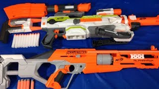 Toy Guns Video Nerf Guns Box of Toys Modulus with Attachments