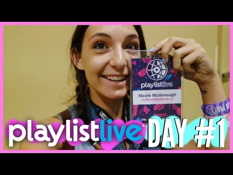 Playlist Live Day 1 // Traveling to Orlando & Meeting Kenzie!! #1