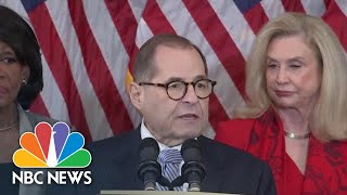 Nadler Unveils Articles Of Impeachment: 'No One Is Above The Law' | NBC News