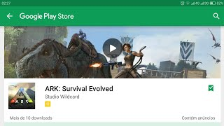 SAIU!!!! ARK SURVIVAL EVOLVED - DOWNLOAD ANDROID