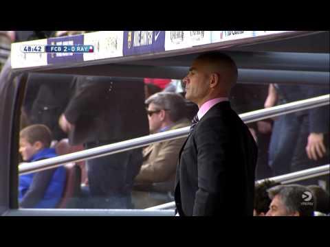 Gerard Pique Goal vs Rayo Vallecano 2014/2015