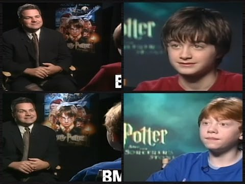 Harry Potter, The Early Days. Rare Interviews With The Cast Of Harry Potter And The Sorcerer's Stone