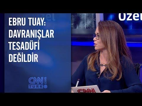 Ebru Tuay: Davranışlar tesadüfi değildir