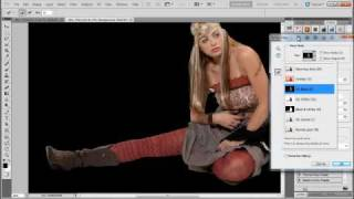 Cutout a photo and Refine Edge, Photoshop Tutorial