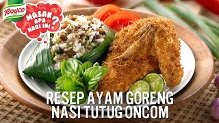 Cooking with Chef Billy: Ayam Goreng Nasi Tutug Oncom