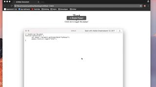 Link JavaScript in HTML Document