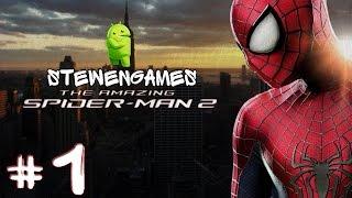 Прохождение игры amazing spider man на android