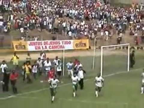 Uniòn Tarapoto -  Juan Aurich  Copa Perù 2007 ida