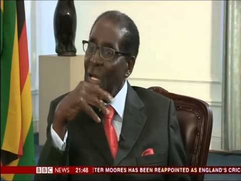 Robert Mugabe - 'Britain has gone to the Dogs'