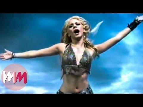 Top 10 Best Shakira Music Audios