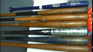 Seven Bats, Hillerich & Bradsby, Black Magic Easton Super Barrel, and much more