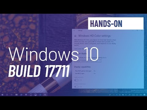 Windows 10 build 17711: Microsoft Edge, Fluent Design, Settings