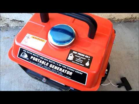 Storm Cat Harbor Freight $89.99 Portable Generator. It kind of sucks. HFT Customer Service