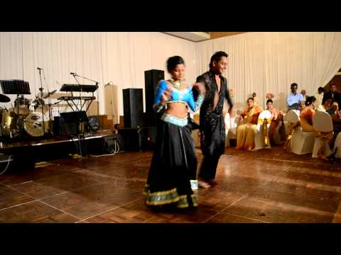 The Best Wedding Reception Dance EVER - BOLLYWOOD