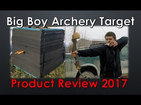 QUIT BUYING ARCHERY TARGETS EVERY SEASON   Best Archery Target 2017   Big Boy Archery Target
