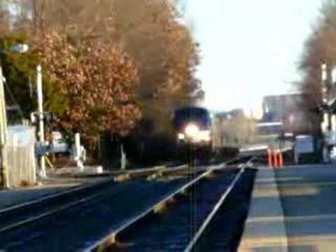 Amtrak #158 arrival into Quantico Virginia