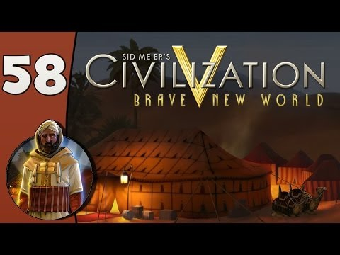 Civilization V Daily #1: Morocco - Part 58 Ending