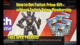How to Get Free Apex Packs Without Having Twitch Prime!!! - Apex Legends