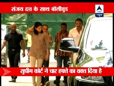 Aamir Khan meets Sanjay Dutt at his residence