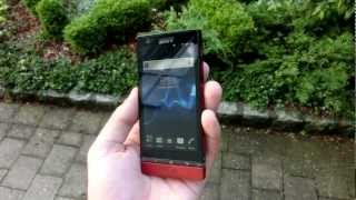Sony Xperia P Display Test Outdoors