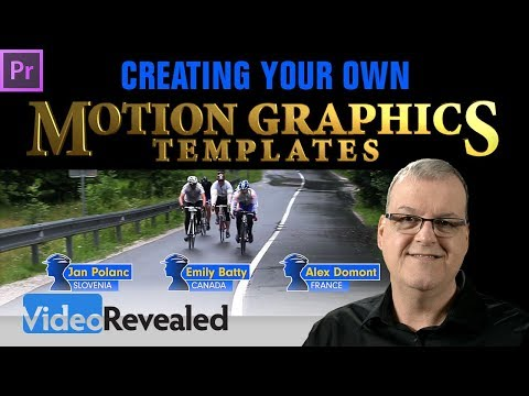 Creating your own Motion Graphics Templates in Adobe Premiere Pro CC - DEEP DIVE!