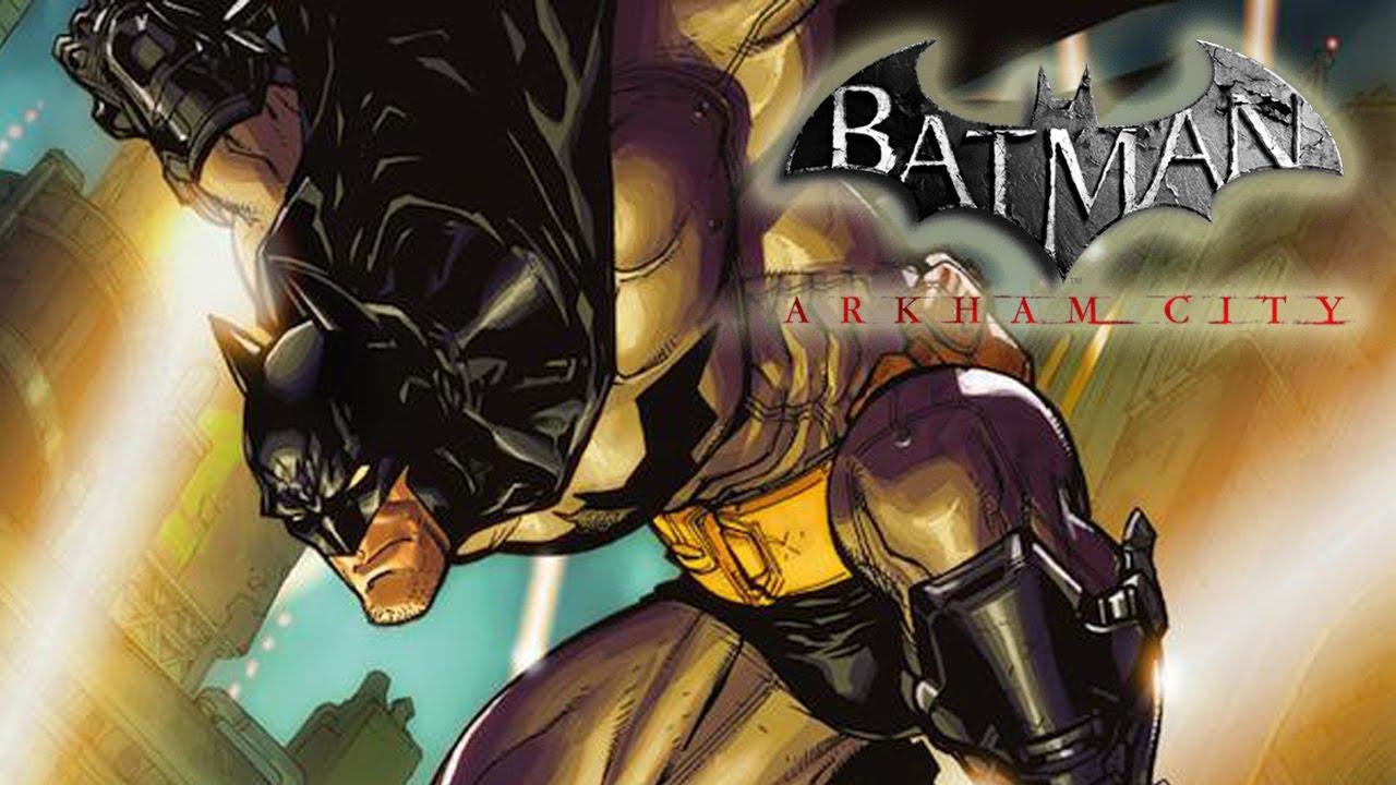 Comics Batman Arkham City Batman Arkham City Comic