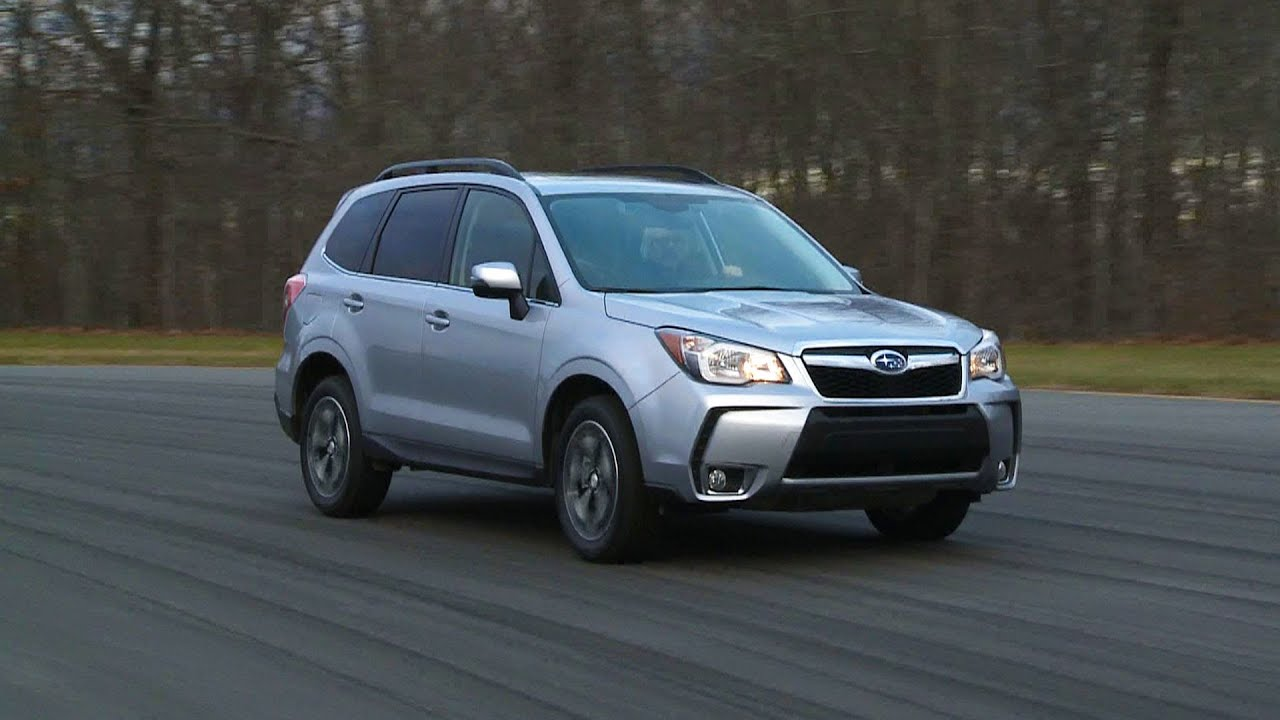 2014 Subaru Forester first drive | Consumer Reports - YouTube