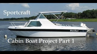 Sport-Craft Boat Project Part 1: Intro and Starting Deconstruction