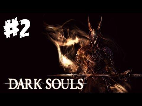 Dark Souls Walkthrough Part 2 - I Beat A Boss! - Let's Play (Xbox 360/PS3 Gameplay)