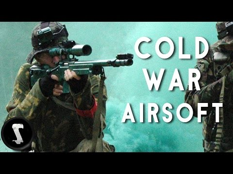 Real Military Base Airsoft Sniper Team!