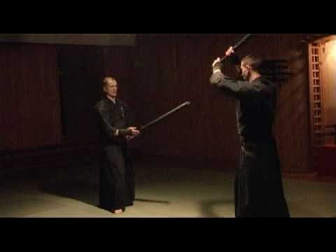 Kensyobudo Japanese sword fighting martial art.