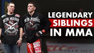 10 Most Legendary Fighting Siblings in UFC/MMA