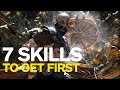 God of War: 7 Skills to Get First