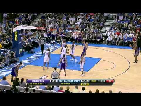 NBA Phoenix Suns Vs Oklahoma City Thunder Highlights Mar 7,2012 Game Recap
