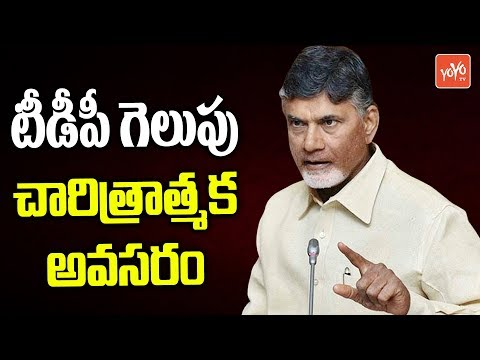AP CM Chandrbabu Says TDP Need to Win in AP Elections 2019 | AP Politics | YOYO TV Channel