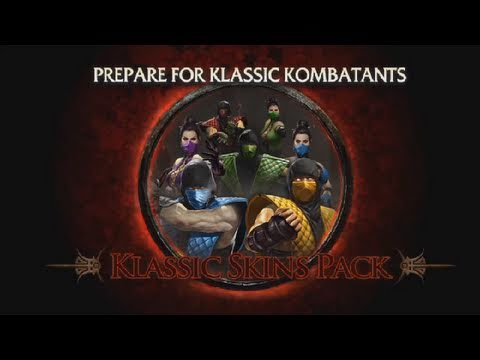 Mortal Kombat 9 Klic Skins Dlk 2011 Official Mk9 Hd