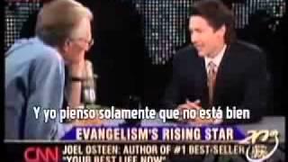 Cristianidad Sin Cristo: Entrevista a Joel Osteen por Larry King - Segmento 1