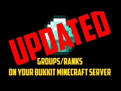 [1.7.5] How to get groups/ranks on your Bukkit Minecraft server! - UPDATED [1.7.5]