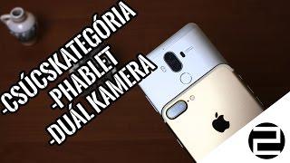 Duál kamerás csúcsphabletek - iPhone 7 Plus és Huawei Mate 9 összehasonlítás