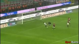 AC Milan vs Udinese 4-4 ALL GOALS & HIGHLIGHTS - 09/01/2011