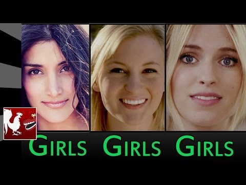Rooster Teeth Shorts : Girls Girls Girls