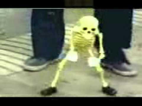 dancing skeleton with rangam telugu song. Enduko emo. Very funny...